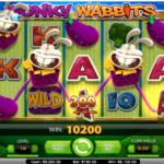 wonky wabbits slotmaskin