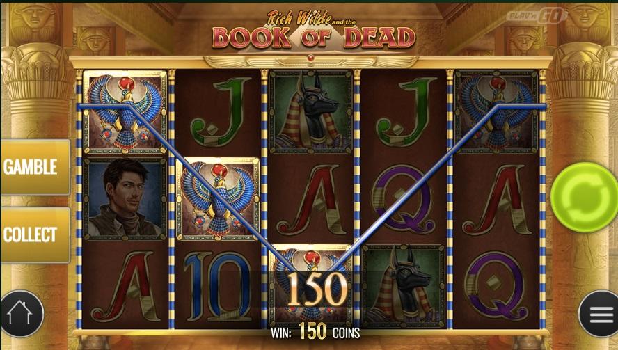 slotmaskiner book of dead