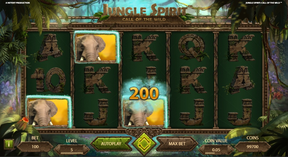 slotmaskiner jungle spirit